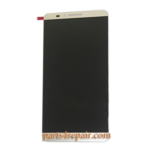 Complete Screen Assembly for Huawei Ascend Mate 7 MT7-TL10 -Gold