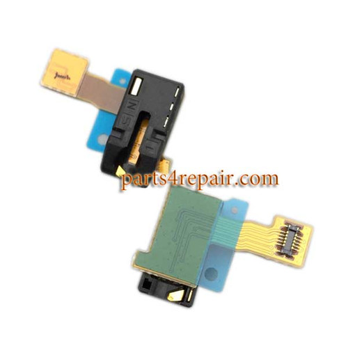Earphone Jack Flex Cable for Sony Xperia C3