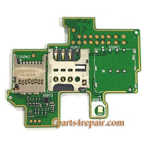 SIM Contact Board for Sony Xperia M C1905