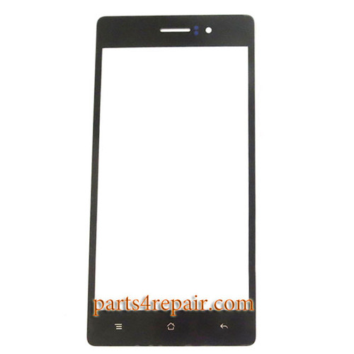 Front Glass for Oppo R5 -Black