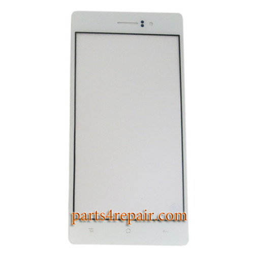 Front Glass for Oppo R5 -White