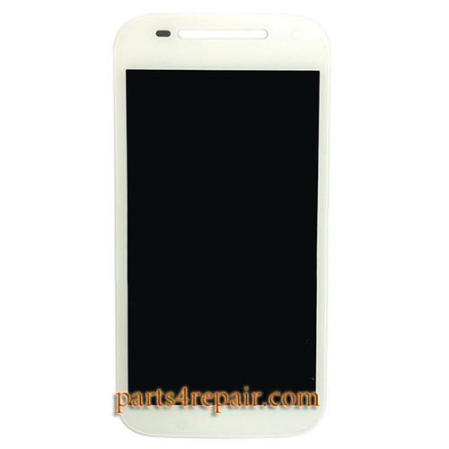 Complete Screen Assembly for Motorola Moto E (2nd Gen) -White