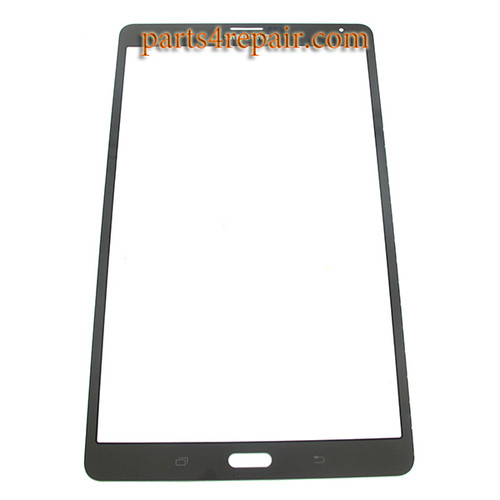 Front Glass OEM for Samsung Galaxy Tab S 8.4 T700 3G -Titanium Bronze