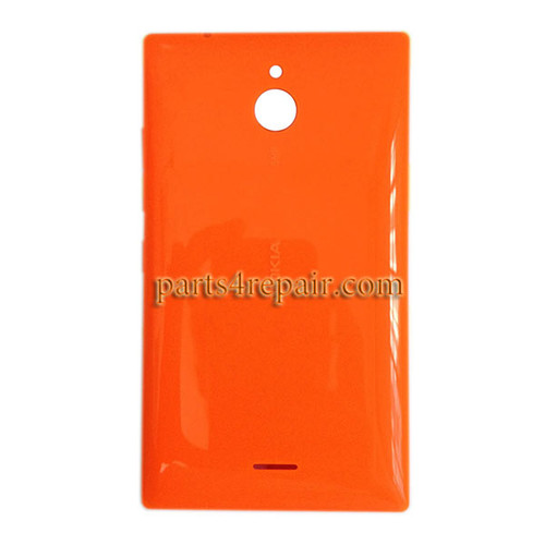 Back Cover with Side Keys for Nokia X2 Dual SIM -Orange