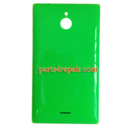 Back Cover with Side Keys for Nokia X2 Dual SIM -Green