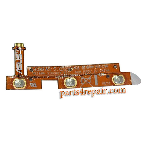 Volume Flex Cable for Asus Memo Pad 8 ME180A