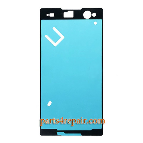 Front Housing Adhesive Sticker for Sony Xperia C3 S55