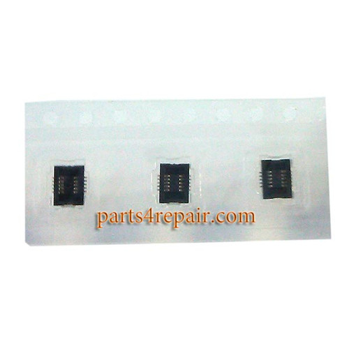 10pin Touch Screen FPC Connector for LG G3 from www.parts4repair.com