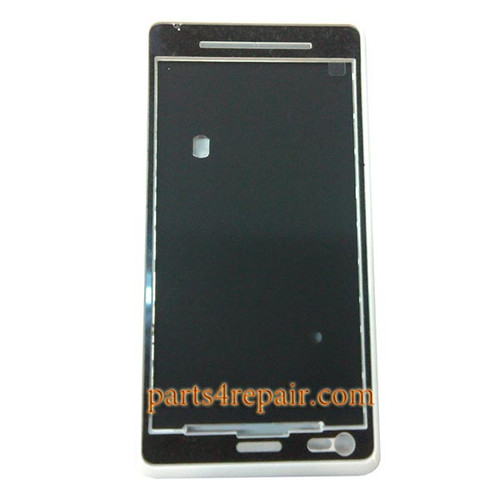 Front Housing Cover for Sony Xperia M C1905 -White