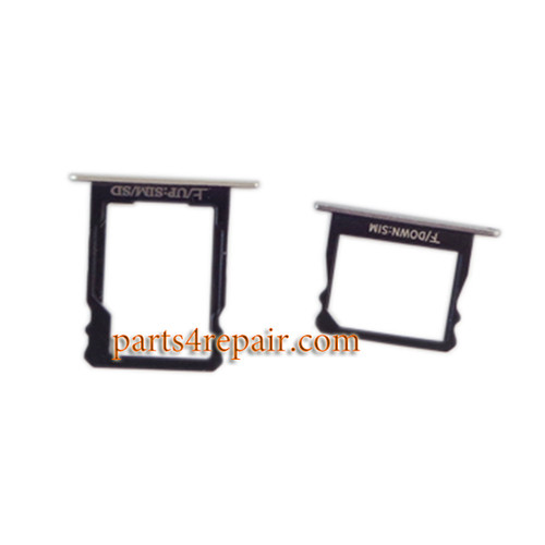 A Set of SIM Tray for Huawei P8 -Silver