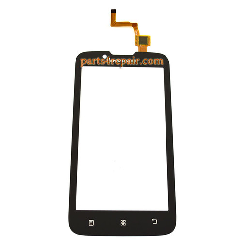 Touch Screen Digitizer for Lenovo A328 -Black