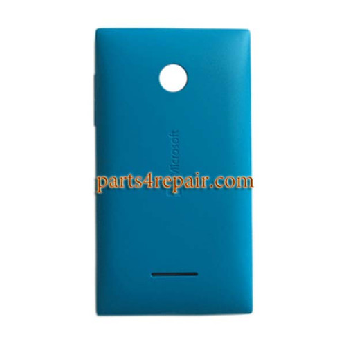 Back Cover with Side Keys for Microsoft Lumia 435 -Blue