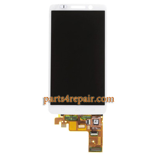 Complete Screen Assembly for Motorola DROID mini XT1030 from www.parts4repair.com