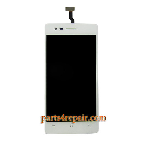 Complete Screen Assembly for Oppo A31 -White