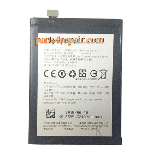 BLP595 Built-in Battery 2320mAh for Oppo R7