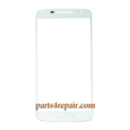 "Front Glass for Motorola X Play 5.5"" -White"