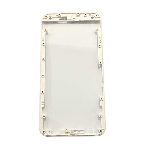 "Front Housing Cover for Motorola X Style 5.7"" -White"