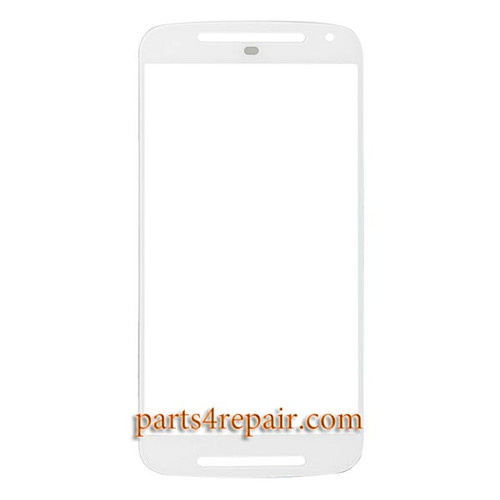 Front Glass OEM for Motorola Moto G2 -Black from www.parts4repair.com