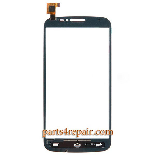 Touch Screen Digitizer for Alcatel Pop C7 -White