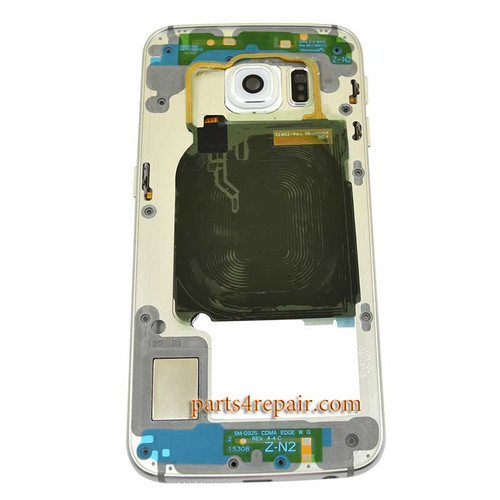 Middle Housing Cover for Samsung Galaxy S6 Edge G925F from www.parts4repair.com