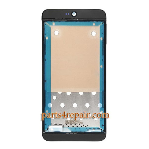 Front Housing Cover with Adhesive for HTC Desire 826 Dual SIM -Dark Blue