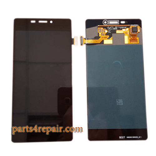 Complete Screen Assembly for Gionee Elife S7 GN9006 from www.parts4repair.com