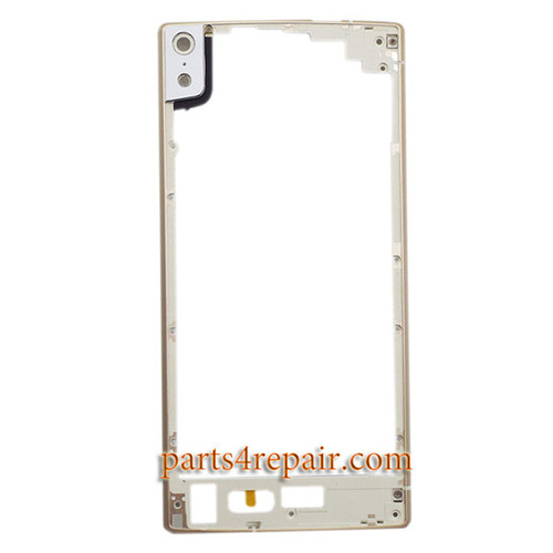 Front Bezel for Gionee Elife S5.5 GN9000 -Gold