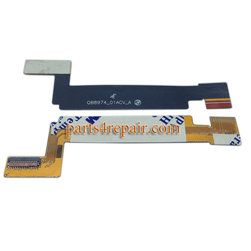 LCD Connector Flex Cable for ZTE Nubia Z5S NX503A from www.parts4repair.com