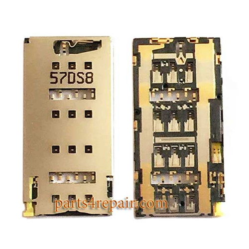 Dual SIM Contact Reader for Sony Xperia Z3+ Dual from www.parts4repair.com