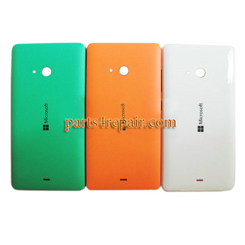 Back Cover with Side Keys for Microsoft Lumia 540 Dual SIM -Green