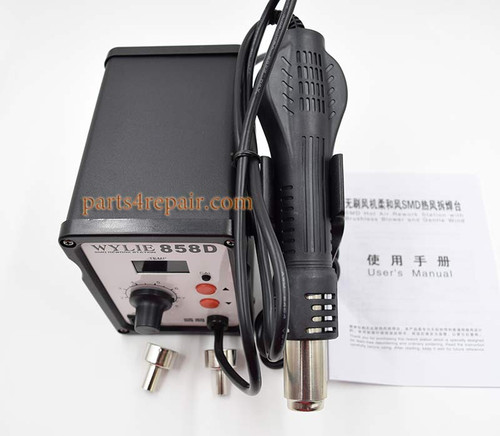 700W 220V 858D ESD Soldering Station LED Digital SMD Solder Blowser Hot Air Gun