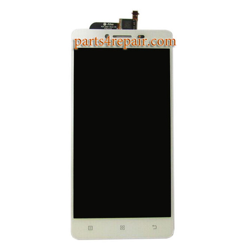 Complete Screen Assembly for Lenovo P70 -White