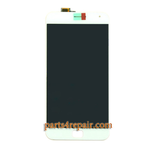 Complete Screen Assembly for Meizu MX4 Pro -White