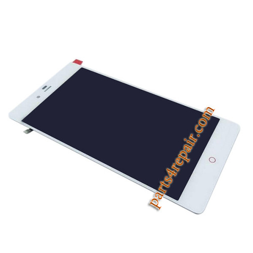 Complete Screen Assembly for ZTE Nubia Z9 Max NX510J from www.parts4repair.com