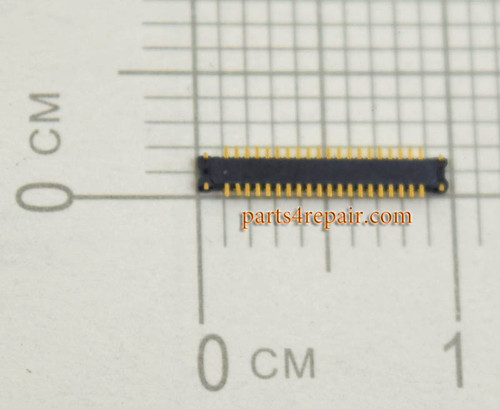 40pin LCD FPC Connector for Sony Xperia Z3 -5pcs