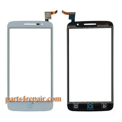 Touch Screen Digitizer for Alcatel Pop 2 (5) 7043A 7043Y -White