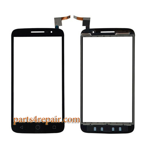 Touch Screen Digitizer for Alcatel Pop 2 (5) 7043A 7043Y -Black