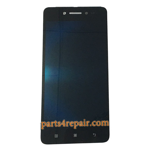 Complete Screen Assembly with Bezel for Lenovo S90 Sisley -Black