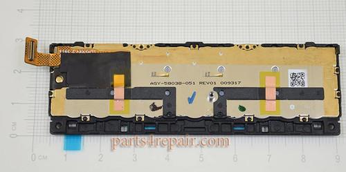 Keypad with Flex Cable for BlackBerry Passport (BlackBerry Q30) -White