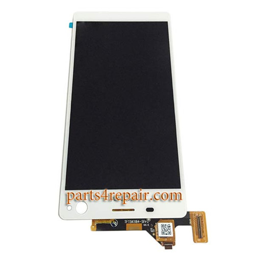 Complete Screen Assembly for Sony Xperia C4 -White