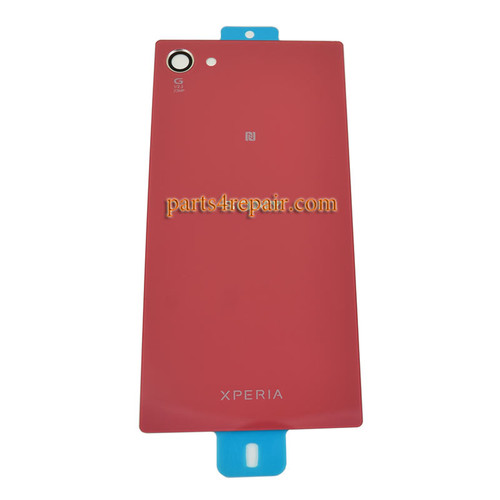 Back Cover OEM with Camera Lens for Sony Xperia Z5 Compact (Z5 mini) -Coral