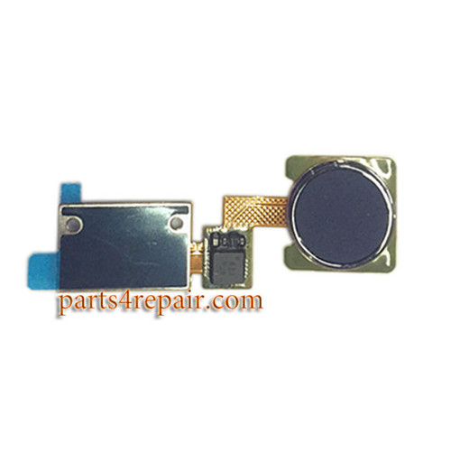 Fingerprint Button Flex Cable for LG V10 H900 H901 VS990 -Black