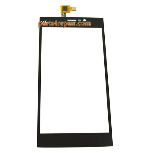 Touch Screen Digitizer for Wiko Ridge Fab 4G from www.parts4repair.com