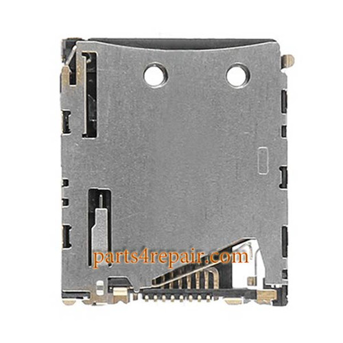 Micro SD Contact Reader for Sony Xperia Z3 Compact from www.parts4repair.com