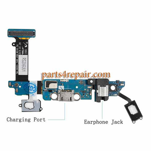 Dock Charging Flex Cable for Samsung Galaxy S6 G920I from www.parts4repair.com