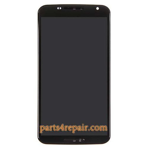 Complete Screen Assembly with Bezel for Motorola Nexus 6