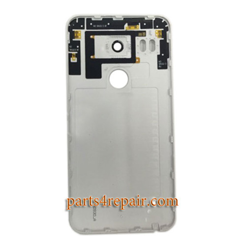 Back Cover OEM with Camera Lens for LG Nexus 5X H790 H791 -White