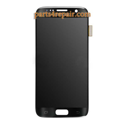 Complete Screen Assembly for Samsung Galaxy S7 All Versions -Black