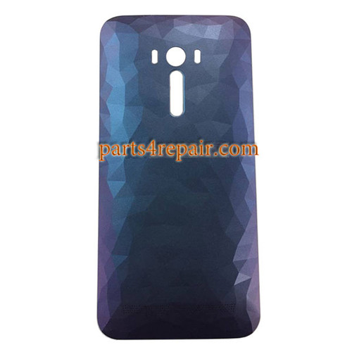 Back Cover with Power Button for Asus Zenfone Selfie ZD551KL -Diamond Blue