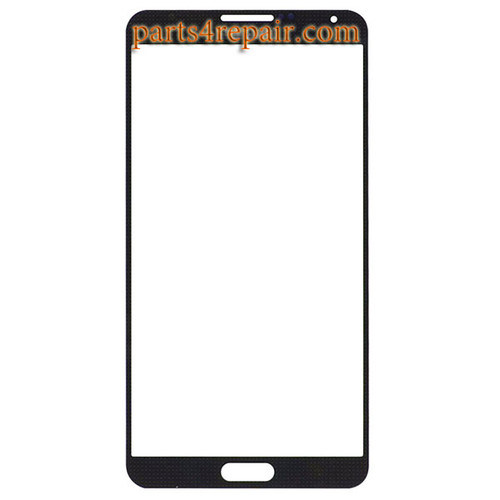 Front Glass for Samsung Galaxy Note 3 Neo -Black